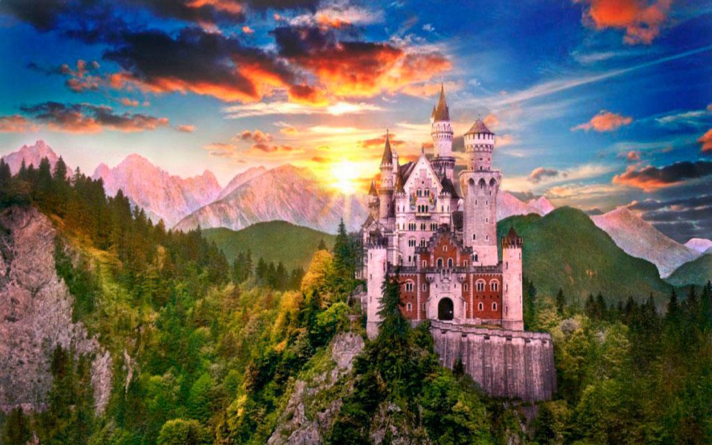 Замки Европа