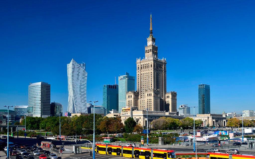 Варшава из Бреста