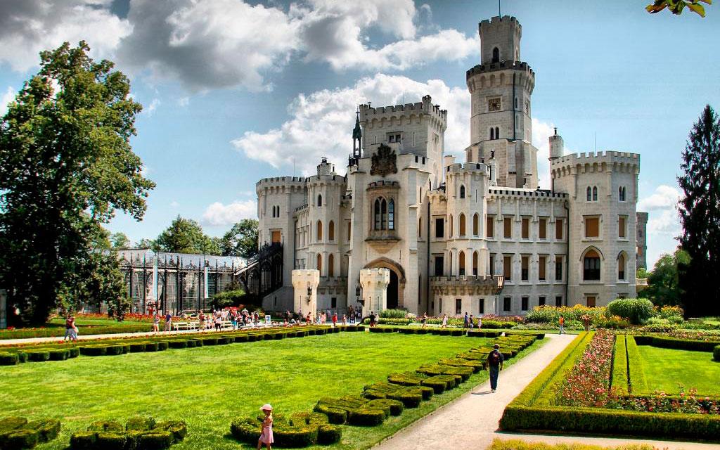 Экскурсии по замкам Чехии