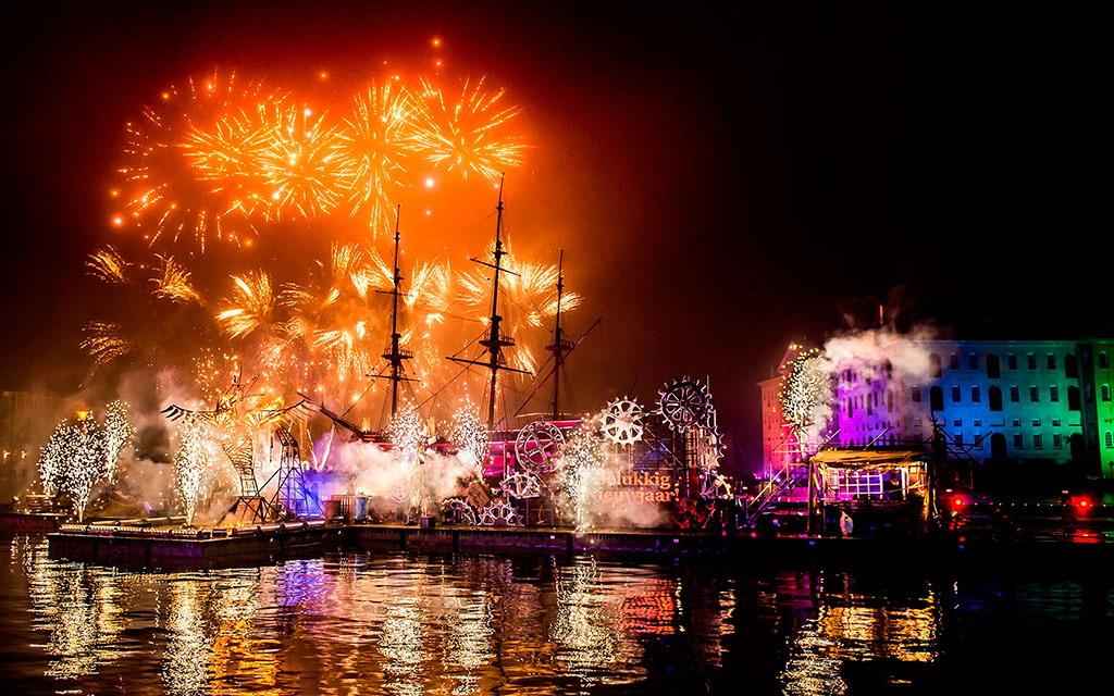 Новый Год в Амсердаме.