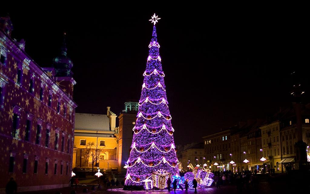 Варшава на Рождество