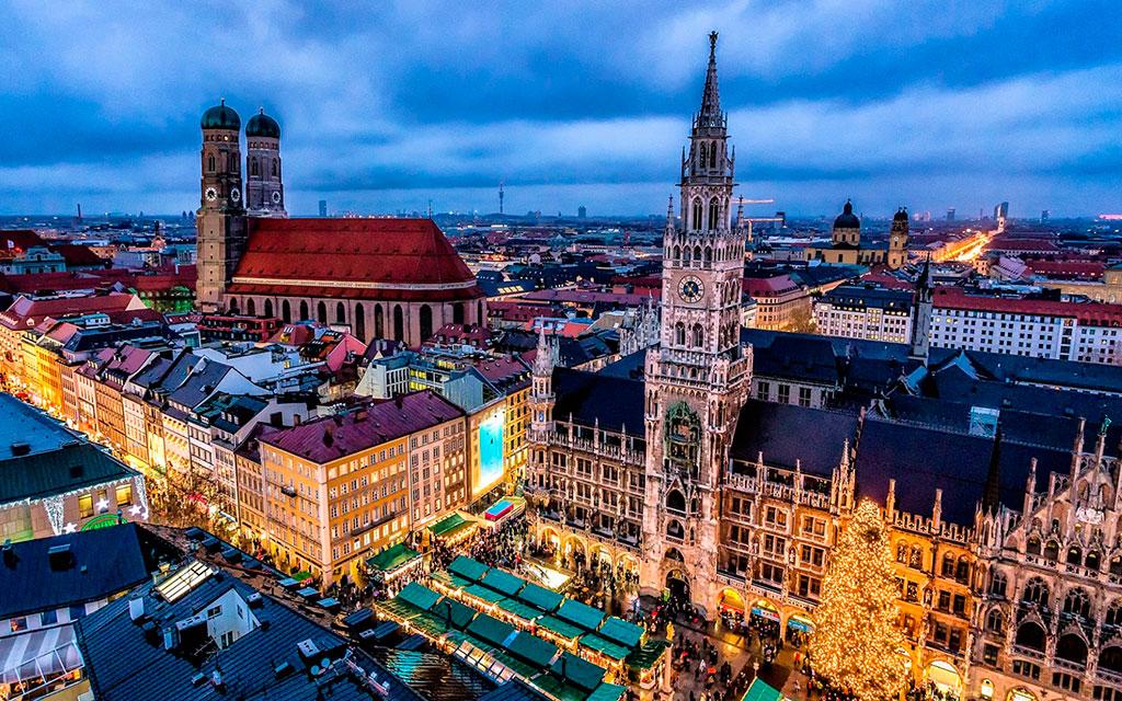 Германия. Нюрнберг Зимой