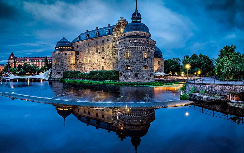 Замки Швеции
